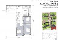 Cần bán căn hộ số 15 thuộc dự án Park 5-Times City, CK 2%, NH hỗ trợ 70% 0% LS trong 24 tháng