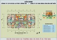 Bán gấp căn hộ chung cư 25 Tân Mai, Hoàng Mai, Hà Nội DT 92m2
