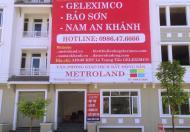 Bán nhà liền kề và biệt thự đã xây thô và hoàn thiện mặt ngoài dự án Geleximco Lê Trọng Tấn