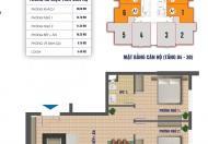 Bán gấp chung cư Nam Xa La, bán giá 13.5tr/m2, DT 70m2, 80m2, 83m2. Lh 0972114926