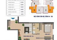 Chính chủ bán suất ngoại giao chung cư 79 Thanh Đàm, căn góc 08, dt 89m2, LH 0972114926
