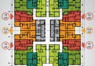 Cần tiền bán gấp chung cư HP Landmark Tower, căn 1201, DT 73m2, giá 19tr/m
