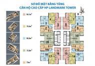 Chính chủ căn dt 72m2 chung cư Hp Landmark cần bán gấp, giá 18tr/m2 0972114926