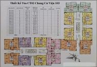 Chủ nhà căn 1815 tòa CT2 CC 103 Văn Quán, dt 82.5m2, cần bán gấp giá 17tr/m2 0906237866
