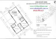 Cần bán chung cư CT1 Thạch Bàn, dt 62m2,2PN, 2wc, giá 14.5tr/m2 vào tên CĐT 0975221690