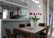 Cho thuê căn hộ cao ốc satra eximland, 90 m2, 2 phòng , đầy đủ nội thất, 17tr/tháng