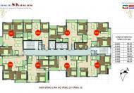 Chính chủ bán căn góc 1605, dt 80m2 chung cư 89 Phùng Hưng cần bán gấp giá 15.2tr/m2 LH 0906.237.866