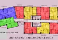 Chính chủ bán CC OCT5 Cổ Nhuế, căn 906, DT 91,2m2, giá 16 tr/m2, 0932323326