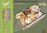 Bán giá rẻ căn 69,8m2 chung cư Thăng Long Victory giá 13tr, tầng 1110