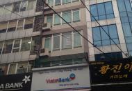 Cho thuê tòa nhà văn phòng Phố Huế, 135m2, 7.5tầng+1hầm, MT: 6m, 268.2 triệu/tháng