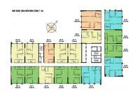 Bán 15.09 =  66,99 m2/2PN tòa CT4 chung cư Eco Green ban công ĐN thoáng mát.