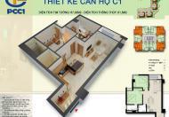 Bán gấp căn góc 2 phòng ngủ 67m2 chung cư PCC1 Complex Hà Đông, ký TT chủ đầu tư LH: 0977 285 119