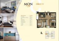 Căn hộ chung cư HD Mon City, căn số 11, DT 61,5m2, tòa CT4. Giá bán: 27,5tr/m2, liên hệ: 0965538628