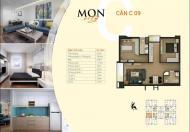 Bán căn hộ chung cư HD Mon City căn 10 tòa CT1A, 61.5m2, giá bán 30tr/m2, view hồ điều hòa