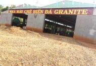 Nhượng nhà máy chế biến đá Granite