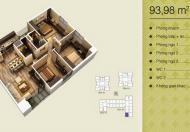 Giá 31tr/m2, bán nhanh căn 03/93.98m2, chung cư Home City, 3pn/2wc, liên hệ: 0965/538/628