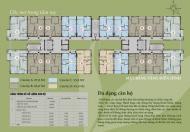 Bán rẻ căn 2PN - diện tích 59,8m2 - tòa T1 chung cư Thăng Long Victory