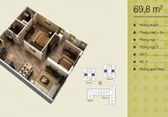0963,565,236 chính chủ gửi bán căn hộ chung cư Home City, căn 69.8m2, tòa V4