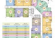 Chuyển công tác bán gấp căn 612 - CT2B Nghĩa Đô, DT 59m2, 2PN, giá bán 25tr/m2 – 0906237866