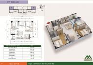 Bán căn số 02 chung cư VOV Mễ Trì diện tích 86.43 m2/3PN, căn góc ban công 2 mặt