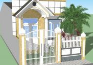 Bán nhà phố mới xây gần chợ Bình Chánh DT: 5,5mx15m