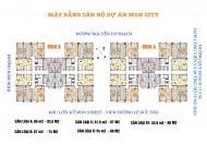 Bán suất ngoại giao chung cư Mon City căn 02 tòa CT1-A, DT 52.6 m2, 2PN, 2WC giá 28,1 tr/m2