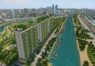 Bức tường xanh lớn nhất thành phồ Hồ Chí Minh, ngay chân cầu chữ Y (Diamond Lotus Riverside)