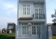 Bán nhà mới xây DT 82.5m2/350tr, sổ hồng riêng gần chợ Hưng Long – Bình Chánh