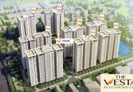 Bán chung cư V3 Prime tòa nhà đẹp nhất dự án The Vesta Hà Đông. Đa dạng dt: 57 m2 - 66.9 m2 - 69 m2
