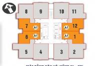 Chính chủ bán chung cư Nam Xa La căn 1512, DT 70.4m2, giá 12 triệu/m2-0967728950