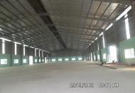 Cho thuê nhà xưởng 1500 m2, mặt tiền Tỉnh Lộ 10, Tân Tạo, Bình Tân