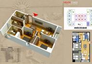 Bán phá giá căn hộ chung cư 75 Tam Trinh, tòa B, căn 01, DT 80.8m2, liên hệ: 0965 538 628