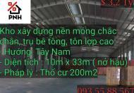 Cần sang nhà kho 500m2 mặt tiền hẻm cấp 1 Nguyễn Khuyến