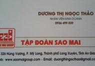 Bán đất tại khu Sao Mai, Bình Khánh 5, vị trí đẹp - Long Xuyên