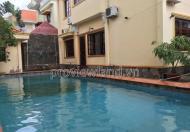 Cho thuê biệt thự Thảo Điền DT 600m2, 4PN, 5 WC, sân vườn hồ bơi rộng