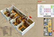 Không có nhu cầu ở cần bán căn hộ 08, DT 98,5m2 chung cư 75 Tam Trinh, 3PN, giá: 22tr/m2