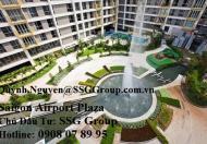 Bán CH Saigon Airport Plaza, 94.72m2-4.2 tỷ tầng cao, view sân vườn, nt dính tường - 0908 078 995