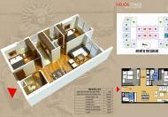Bán gấp 2 căn cC 70m2 và 80m2, tại dự án Helios 75 Tam Trinh, giá 24tr/m2. LH 098.111.5218