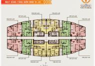 Chính chủ bán gấp chung cư Văn Phú Victoria, căn 1509, DT 97m2, giá 15.5tr/m2
