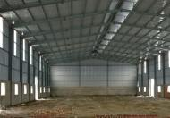 Cho thuê nhà xưởng 1200 m2 mặt tiền Tỉnh Lộ 10, Bình chánh