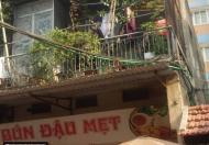Bán rẻ nhà mặt phố Pháo Đài Láng lô góc, vị trí đẹp, DT 60m2, MT 4.69m, giá 170tr/m2