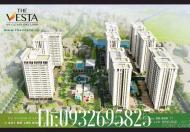 Bán chung cư V3 The Vesta trung tâm Quận Hà Đông, giá chỉ từ 895 tr/căn, LH 0932.695.825