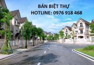Cần tiền bán biệt thự khu A Dương Nội, Nam Cường, M09-L16, DT đất 225 m2, giá chủ 9.6 tỷ