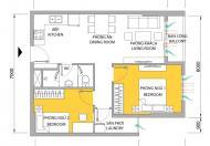 Cần tiền mua đất xây nhà bán gấp căn M-One Nam Sài Gòn T1B10.05, giá: 1,55 tỷ