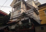 Bán biệt thự 4 tầng, kiến trúc Pháp tuyệt đẹp, ngõ Vip 495 Nguyễn Trãi, DT 160m2, giá 15 tỷ