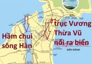500m2 đất Ngô Quyền, cạnh SHB, Sơn Trà, đường 48m, hướng Tây Bắc