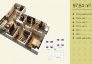 Bán căn hộ 97m2 Home City, LH 0978793141