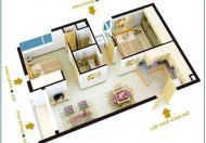 Bán căn hộ Đầm Sen, DT 63m2, căn góc, giá 1.05 tỷ, LH: 0902.456.404