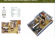 Chính chủ gửi bán gấp căn 2 PN tầng đẹp tại Discovery Complex Cầu Giấy, 32tr/m2