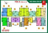 Bán gấp căn hộ dt 110m2, giá 2,9 tỷ tại chung cư Hồ Gươm Plaza, Hà Đông, vào ở ngay